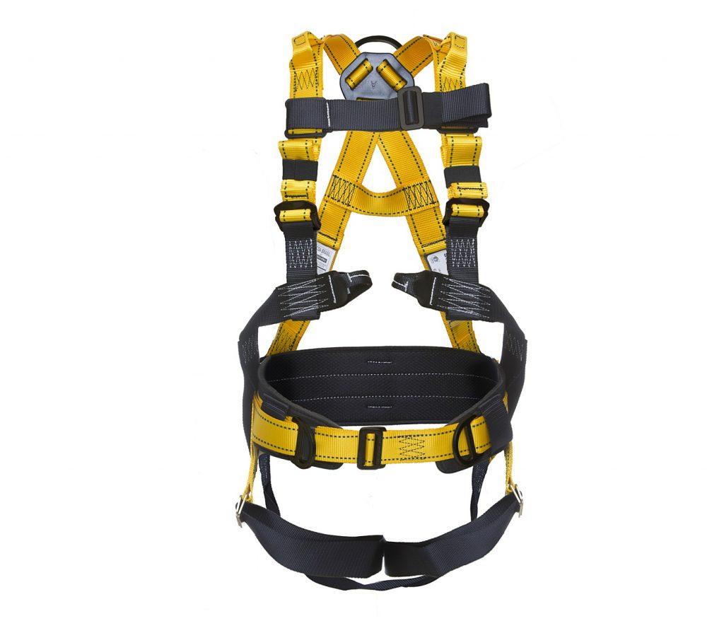 6ede3b7e7 Cinto de segurança tipo paraquedista/abdominal dielétrico com 4 ...